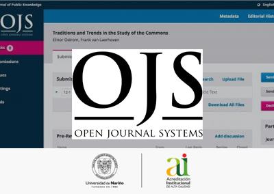 Se llevó a cabo el taller de OJS